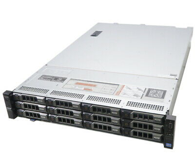 Dell PowerEdge R720xd 2x Six-Core E5-2640 16GB RAM 12x 3.5  HDD Bay 2U Server • 395£