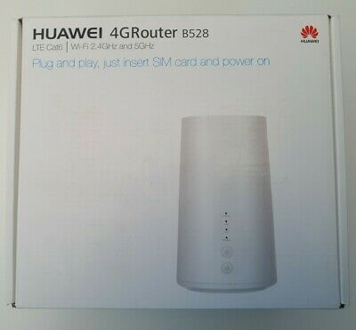 Huawei Gigacube Vodafone B528s-23a 4G LTE Router - White • 65£