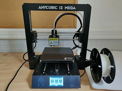 ANYCUBIC I3 MEGA 3D Printer Kit Upgraded To Mega S With Latest Firmware • 225£