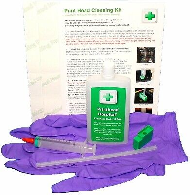Print Head Cleaning Kit For Epson XP. Unblocks Printer Nozzles • 16£