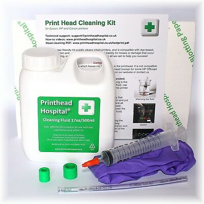 Large Print Head Cleaning Kit For Epson, XP, Brother, Canon And HP Printers • 20.50£