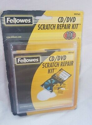 SEALED Fellowes CD / DVD Repair Kit - 99763 • 8.99£