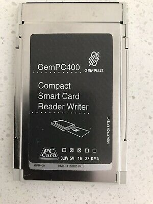 GemPC400 Compact Smart Card Reader Writer PCMCIA • 0.99£