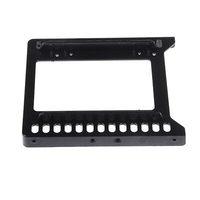 Adapter 2.5  To 3.5  Hard Drive Plastic Bracket Hdd Er Mounting Ssd Black KY • 4.27£