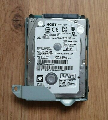HGST 500GB Internal 5400RPM 2.5  HDD - For Laptops, PS3, Xbox • 11.99£