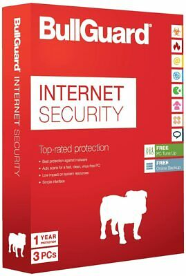 Bullguard Internet Security 2020. 3 User For PC. 12 Months. 1 Year. 3 Devices • 16.50£