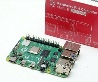 Raspberry Pi 4 Model B, 2GB RAM Board • 33£