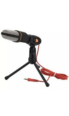TONOR Desktop Microphone With Tripod Stand Clear Digital Sound 3.5mm Jack • 9.99£