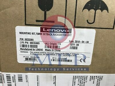 Lenovo RackSwitch Recessed 19  4 Post Rail Kit 00CG089 • 240£