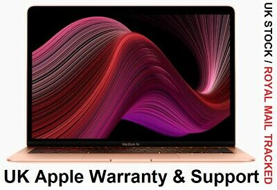 Apple MacBook Air (2020) 13.3  256GB SSD Intel Core I3 10th Gen 3.2 GHZ Touch ID • 869£