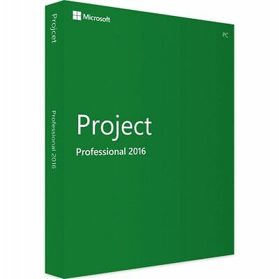 Project 2016 Professional FOR 1 PC GENUINE Project 2016 • 3.99£