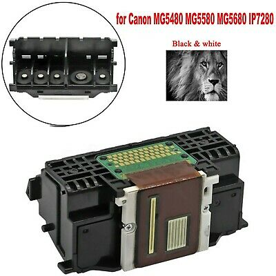 QY6-0082 Print Head Black Assembly For Canon IP7250 MG5450 5550 5750 MG6850 • 15.99£