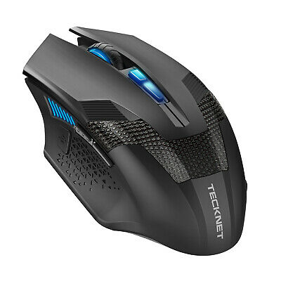 TeckNet Wireless Gaming Mouse 8 Buttons 4800DPI Adjustable With Nano Receiver  • 10.39£