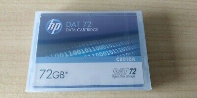 HP DAT 72GB Data Cartridge - C8010A - New And Sealed  • 7.99£