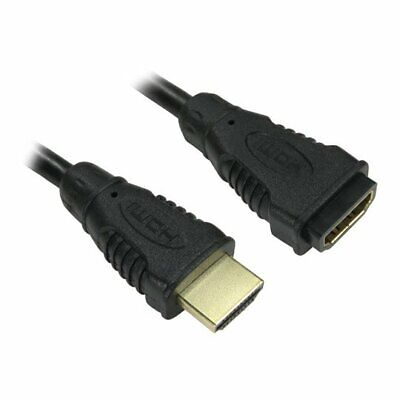 5M XClio HDMI Male To Female High Speed With Ethernet Extension Cable, 4K, V2.0  • 11.40£