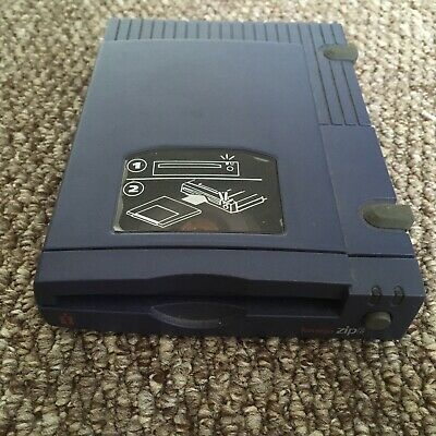 Rare Working Iomega Zip 100 Drive SCSI With Power Supply • 129£
