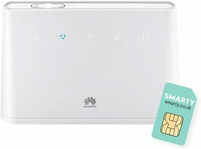 Huawei B311 2020, 4G/ LTE 150 Mbps Mobile Wi-Fi Router, Unlocked To All Networks • 73.75£