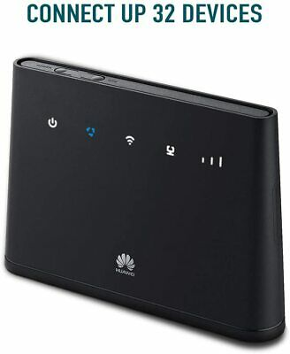 Huawei B311 2020-4G/ LTE 150 Mbps Mobile Wi-Fi Router, Unlocked To All Networks- • 73.75£