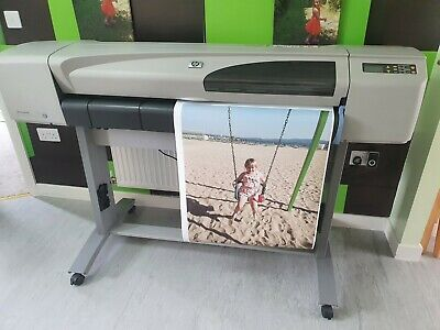 """HP DesignJet 500 42"""" A0 Plotter Used Good Working Order • 157£"""