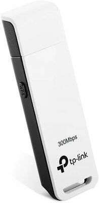 TP-LINK TL-WN821N USB Adapter 300Mbps Wireless N WiFi Portable White Dongle • 13.99£