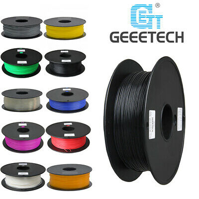 Geeetech Prusa 1.75 Mm 1kg Filament Black White PLA For 3D Prusa Printer • 14.99£