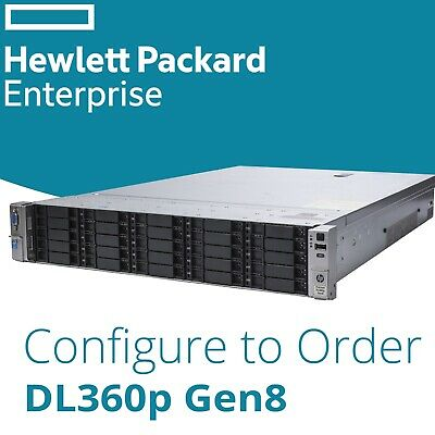 HP DL380p G8 25-Bay Configurable SAS Storage Server 2x Xeon HEX Or Eight Core • 223.96£