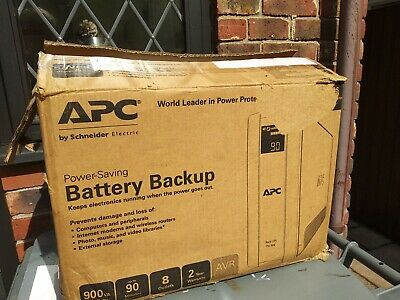 APC Back-UPS Pro Line-Interactive 900VA 8AC Outlet - Model UPS Pro 900  UNUSED • 120£