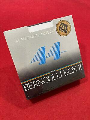 NEW Iomega 44mb Disk Cartridge 5.25 Inch Bernoulli Box 2, 3pack • 49£