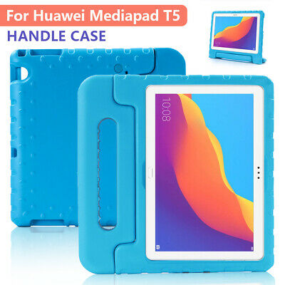 For Huawei MediaPad T3 T5 10 8 Kids EVA Foam Stand Shockproof Handle Case Cover • 9.95£