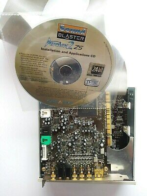 Audigy2 Soundblaster Card And Front Box • 45£