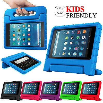 For Amazon Fire 7  HD 8  Tablet ShockProof EVA Handle Kids Stand Cover Case • 8.99£