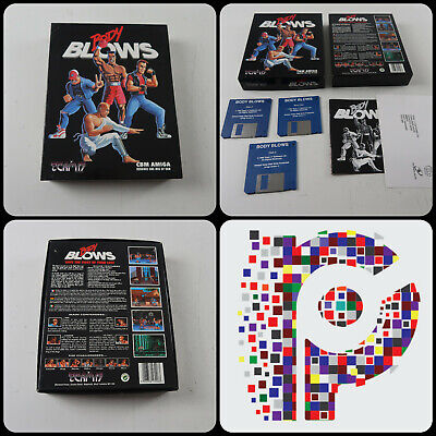 Body Blows A Team 17 Game For The Commodore Amiga Computer Tested & Working GC • 23.99£