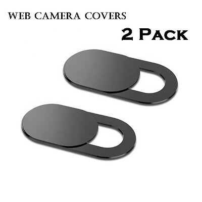 2Pack Ultra Thin Web Camera Cover Slider For Laptop, PC, Macbook, IPad IMac • 1.75£