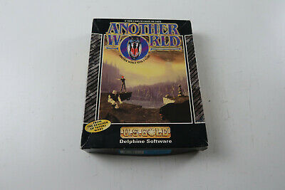 Another World A Delphine Software Game For The Commodore Amiga Tested & Working • 96.99£