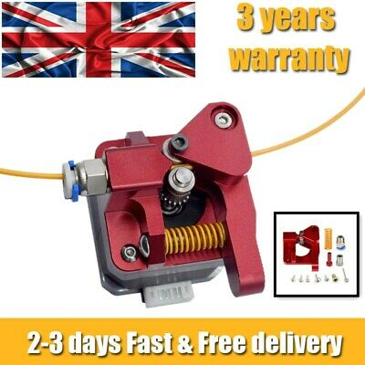 For CR-10 CR-10S Pro Ender 3 5 Upgraded Dual Drive Gear Extruder Feeder UK NEW • 14.29£