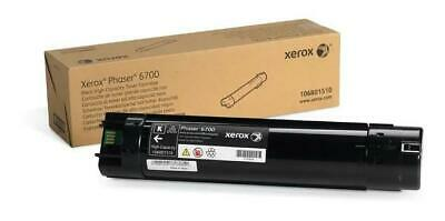 Xerox Phaser 6700 Black High Capacity Toner Cartridge (18,000) Pages 106R01510 • 126£