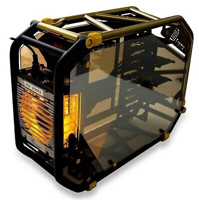 D-frame 2.0 Tower 1065W Black & Gold Computer Case • 311.01£
