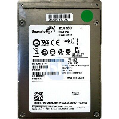 Seagate 800GB 1200 SSD (SFF 2.5in) SAS-3 12Gbps SSD • 276.99£