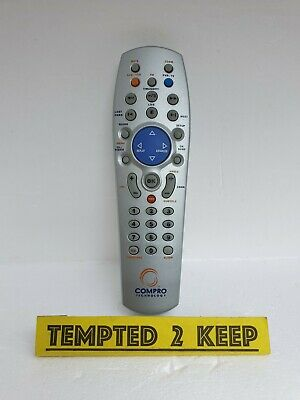 Compro Technology Dvb T-300 Video Mate Remote Control Only Tested • 18.10£