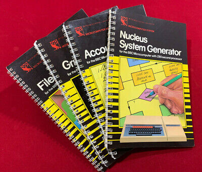 Four Acorn Manuals/Guides For The BBC Microcomputer Z80 Co-Processor  • 45£
