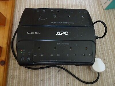 APC BE550G Power-Saving Back Up Power Supply ES 550VA/330W UPS 8 Outlets • 24.99£