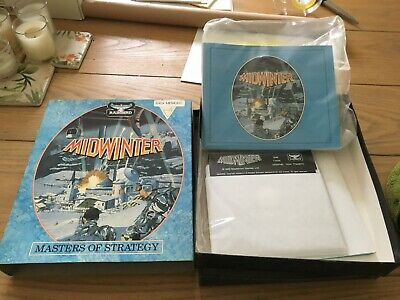 Vintage PC Game - Midwinter - Strategy Software Game 5.25  Floppy Disks  • 4£