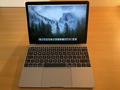 Apple MacBook - Early 2015 - Space Grey - 512MB - Excellent Condition • 215£