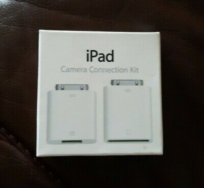 APPLE IPAD CAMERA CONNECTION KIT  & SD Card Reader. Openned But Unused. New. • 4.50£