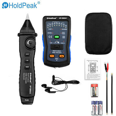 Wire Checker 3in1 Network LAN Cable Tester Finder RJ11 RJ45 BNC Telephone Finder • 27.99£