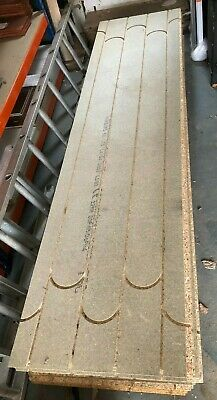 Heat Board Pre Routed Under Floor Heating TNG Chip Board 18mm X 2400mm X 600mm • 18£