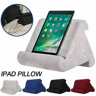 Multi-Soft Pillow Lap Stand For IPad Tablet Cushion Phone Laptop Holder Gift UK • 10.59£
