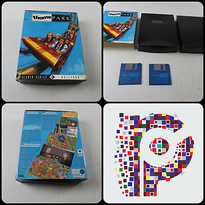 Theme Park A Bullfrog Game For The Commodore Amiga Computer Tested & Working • 7.99£