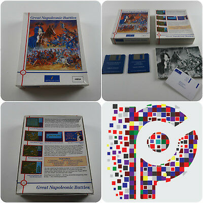 Great Napoleonic Battles A Impressions Game For The Amiga Tested & Working • 14.99£