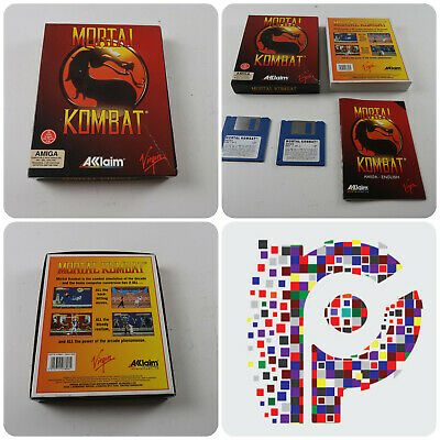 Mortal Kombat A Virgin Game For The Commodore Amiga Computer Tested & Working • 22.99£